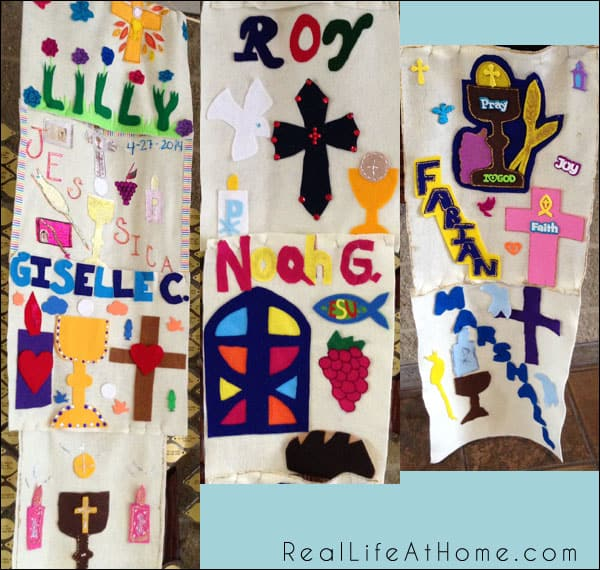 More than 75 Sample First Communion Banner Designs