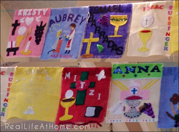 First Holy Eucharist Banner Designs (75+ Ideas)