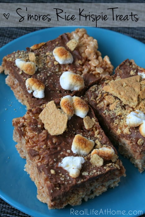 Easy to prepare and deliciously inspired by summer, these S'mores Rice Krispie Treats are sure to please your family and friends.