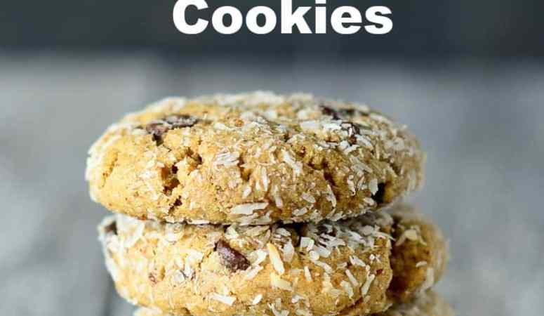 Healthy Almond Butter Chocolate Chip Cookies