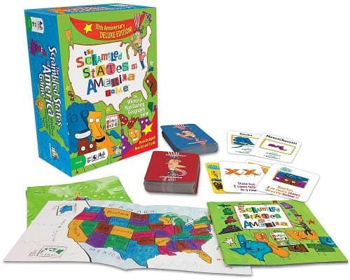 geography games Scrambled States