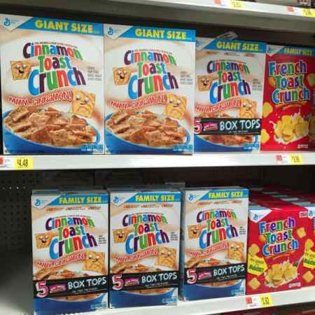 Bonus Box Tops for Education Products Available at Walmart