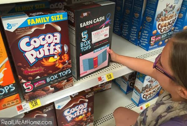 Helping Schools with Bonus Box Tops for Education