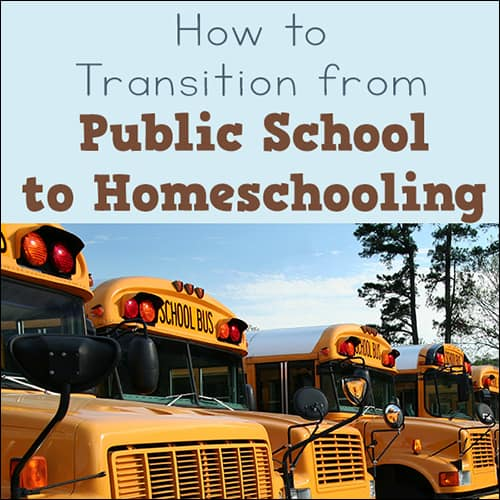 When you are moving from public school to homeschool, there are unique challenges for new homeschoolers. Here are ten do's and don'ts for your transition. | Real Life at Home