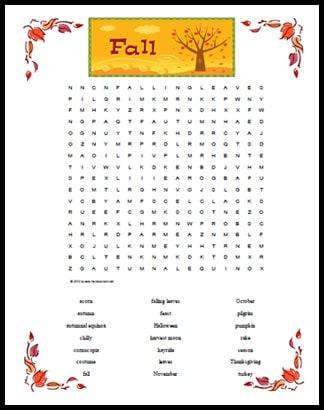 WORD SEARCH FALL PDF DOWNLOAD