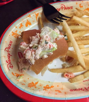 Lobster Roll at Columbia Harbour House - Quick Service Dining
