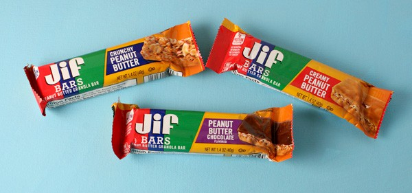 Quick and Easy On-the-Go Snacks - Perfect for Busy Families! (We love these Jif Peanut Butter Bars!)