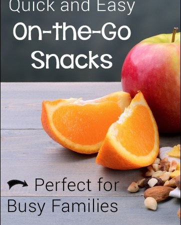 Quick and Easy On-the-Go Snacks for Busy Families