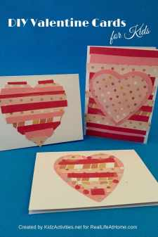 DIY Valentine Cards for Kids