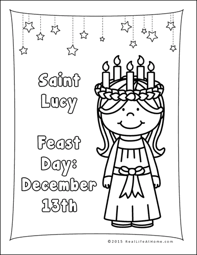 Saint Lucia Printables Packet