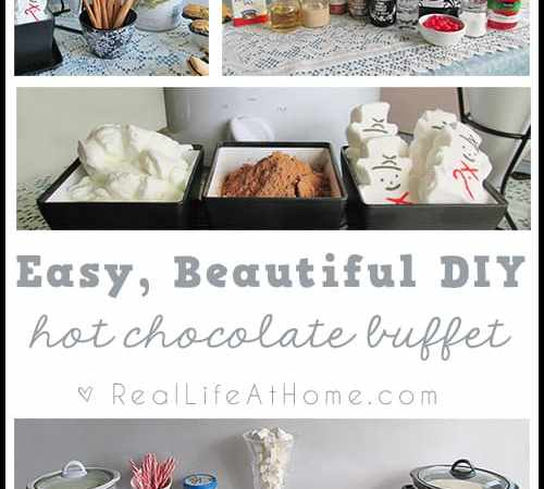 Hot Cocoa Bar: How to Make an Easy Hot Chocolate Buffet