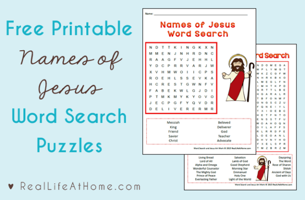 image relating to Free Printable Pictures of Jesus titled Names of Jesus Phrase Glance Cost-free Printables