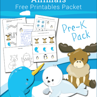 Free Printable Antarctic and Arctic Animals Preschool Packet