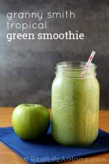 Granny Smith Tropical Green Smoothie