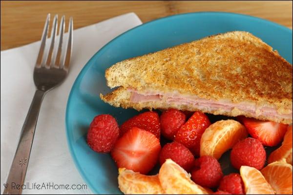 Grilled Sandwich Dinner Using Hormel Deli Meat