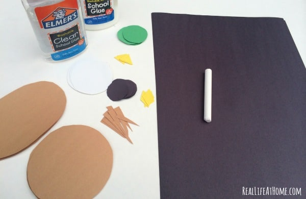 This adorable craft to go along with the book Little Owl's Night is quick and easy to put together and teaches kids about shapes at the same time!