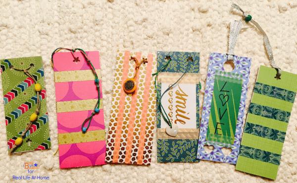 Washi Tape Diy Bookmarks For Kids Tutorial