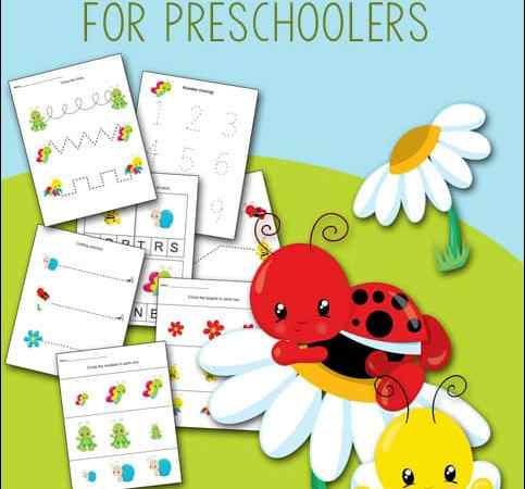 Garden Printables Packet for Preschoolers