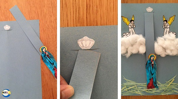 Feast of the Assumption Craft created by Kidz Activities for Real Life At Home