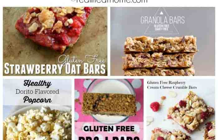 20+ Easy Kid-Friendly Gluten-Free Snack Ideas