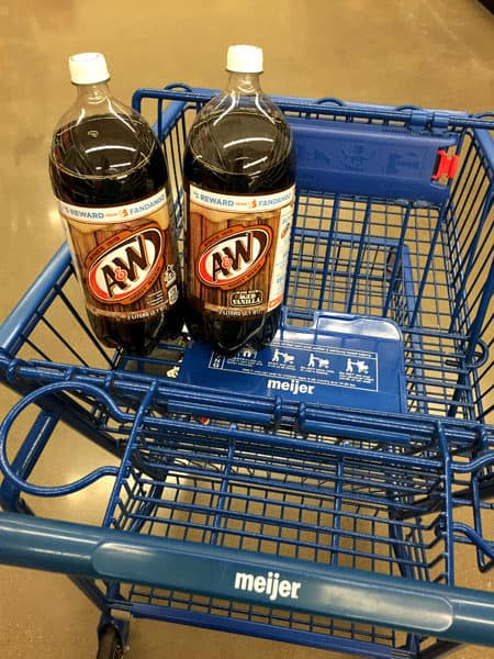 A&W Root Beer at Meijer