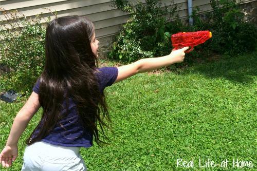 Water gun math fun