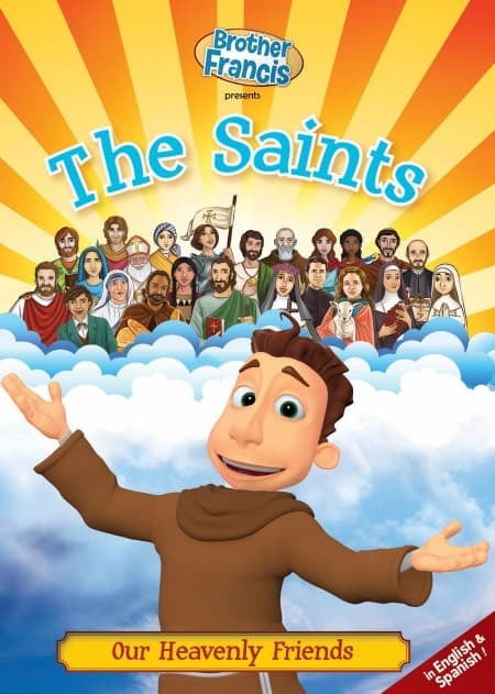 Brother Francis DVD, The Saints, teaches children about St John the Baptist and more