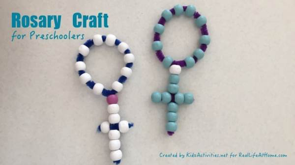 Rosary Craft for Kids