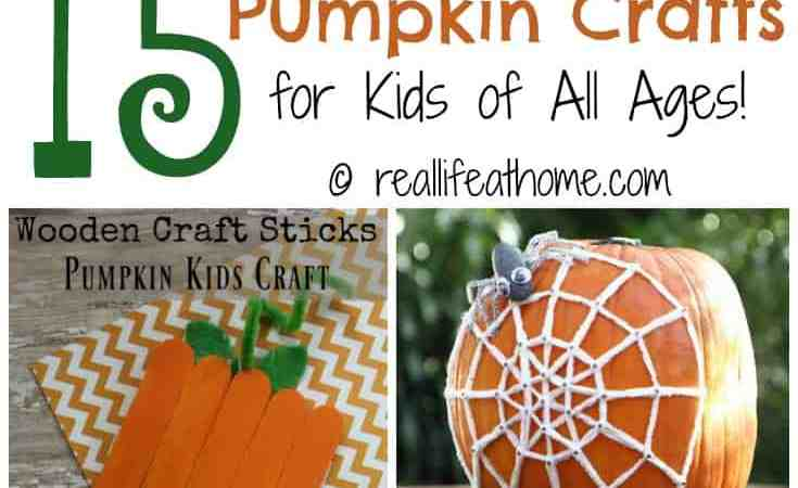 15 Pumpkin Crafts for Kids of All Ages