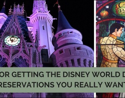 Trying to figure out how to get the Disney World dining reservations you really want? Come see some tips for getting those hard to get reservations, even if your trip is coming up soon