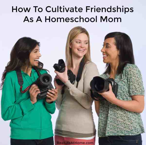 Learn why it is important to cultivate relationships as a homeschool mom. Get ideas & tips on how you can improve your well-being through friendship.