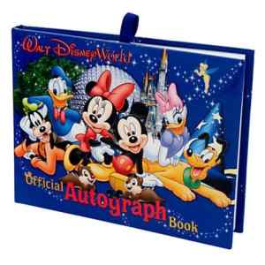 This is our favorite Disney World autograph book!