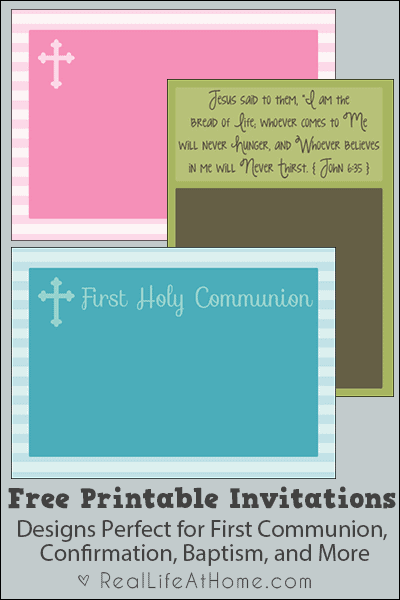 graphic about Printable First Communion Cards called Cost-free Printable To start with Communion, Baptism, and Affirmation
