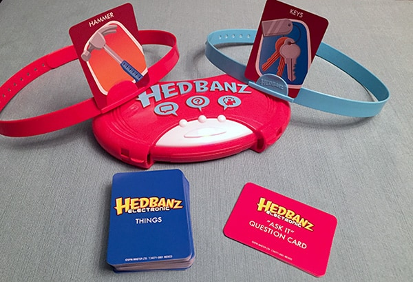Family Game Night Fun with Hedbanz™ Electronic