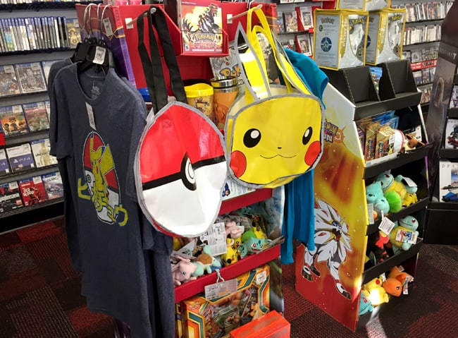 Celebrating the Release of Pokémon Sun and Pokémon Moon with Cool Pokémon Collectibles and Great Deals!