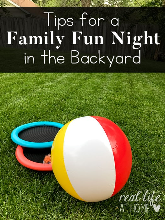Tips for a Family Fun Night in the Backyard