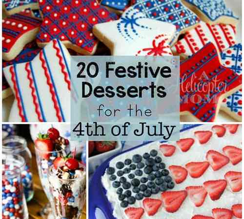 20 Festive Desserts for the 4th of July