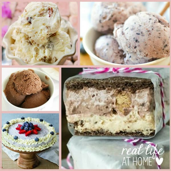 Want to cool off this summer and make family memories at the same time? Here are 15 refreshing homemade ice cream recipes that will be perfect for you! | Real Life at Home