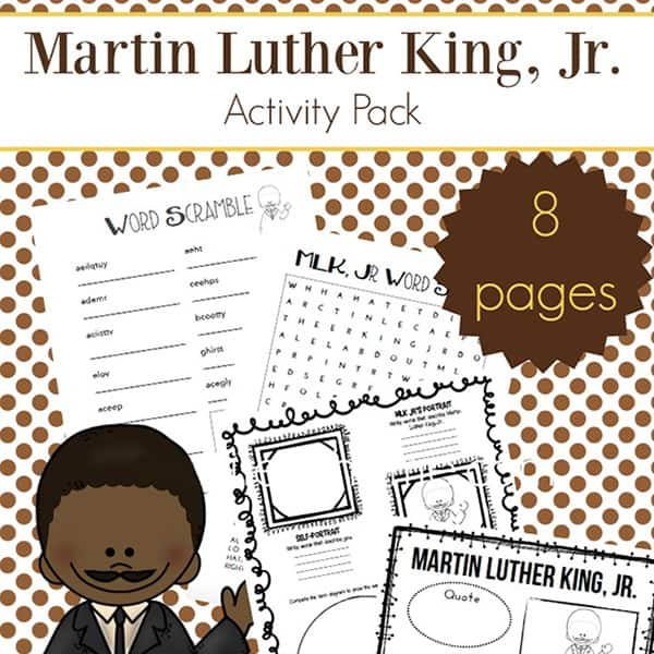It's just an image of Martin Luther King Worksheets Free Printable for printable coloring pages