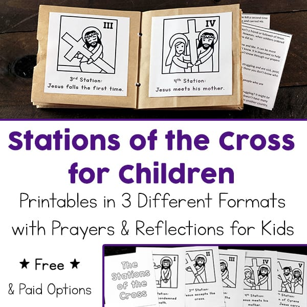 Ambitious image intended for stations of the cross prayers printable