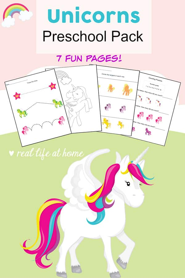 graphic relating to Unicorn Printable Free identify No cost Unicorn Printables Preschool Recreation Packet - Enjoyment and
