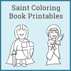 Saint Coloring Books