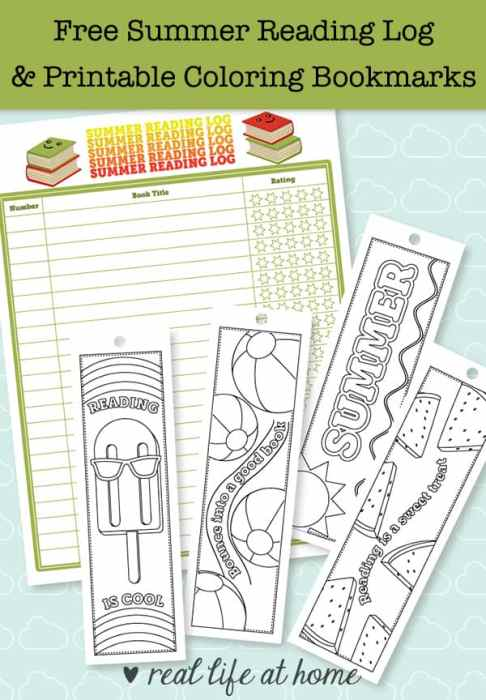 Summer Reading Is Fun This Post Has A Free Printable Log And