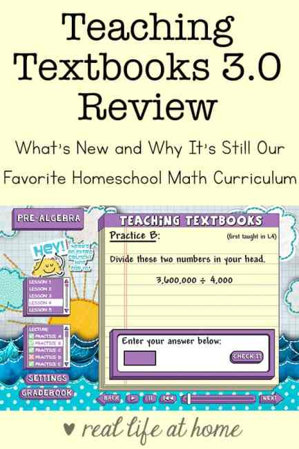 Teaching Textbooks 3.0 Review: What's New and Why It's Still Our Favorite Homeschool Math Curriculum