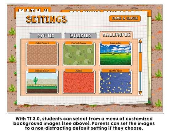 Teaching Textbooks 3.0 Review: Wallpaper Options