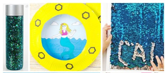 20 Awesome Mermaid Crafts Your Kids Will Love | Real Life at Home