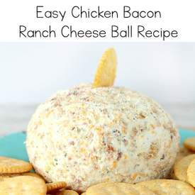 Easy Chicken Bacon Ranch Cheese Ball Recipe