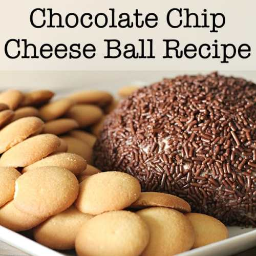 This quick and easy Chocolate Chip Cheese Ball with a cream cheese base is sure to please at parties or just for a special dessert dip at home.   Real Life at Home