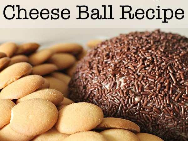 Easy Chocolate Chip Cheese Ball Recipe