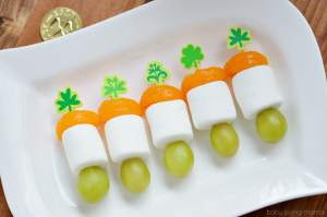 Irish Flag Mini Skewers